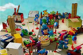 Résultat du travail de l'atelier rencontre en école maternelle (PS) de Brunoy (Essonne)