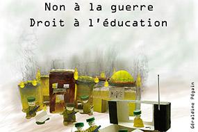 Résultat du travail de l'atelier rencontre en école élémentaire (CM1) de Saint Pierre du Perray (Essonne)
