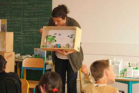 Présentation des décors de mes albums jeunesse, Ecole élémentaire de Savigny le Temple (Seine et Marne)