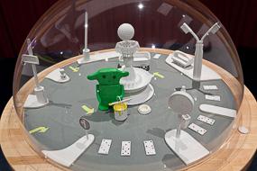 Exposition La Ville en Chantier - Anne MOREAU-VAGNON
