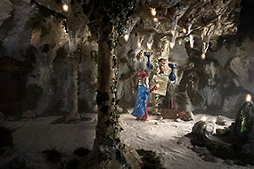 La caverne du magicien