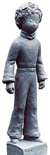 Sculpture Le petit prince, Anne Moreau-Vagnon
