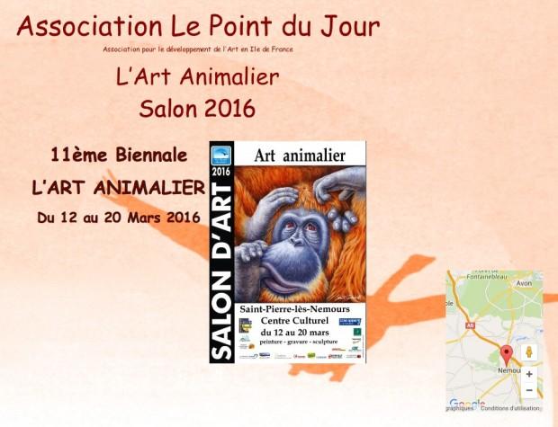 11ème biennalle art animalier - Saint-Pierre-Les-Nemours